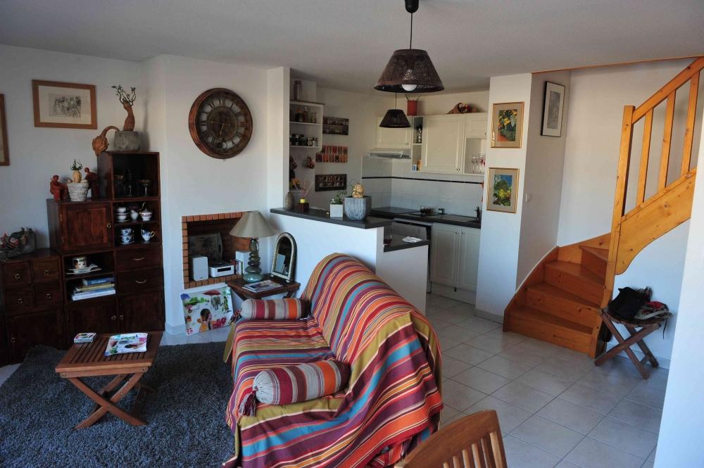 vente appartement t3 duplex au dernier etage centre ville quiberon agence des 2 mers. Black Bedroom Furniture Sets. Home Design Ideas