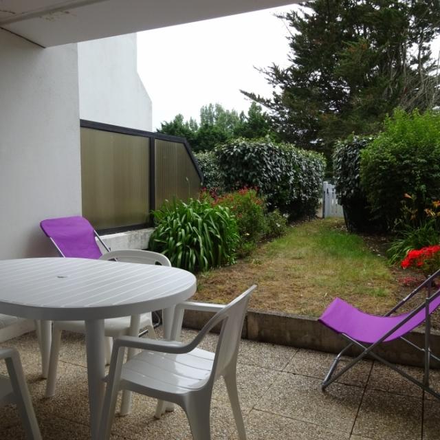 Vente appartement rez de jardin quiberon for Appartement jardin
